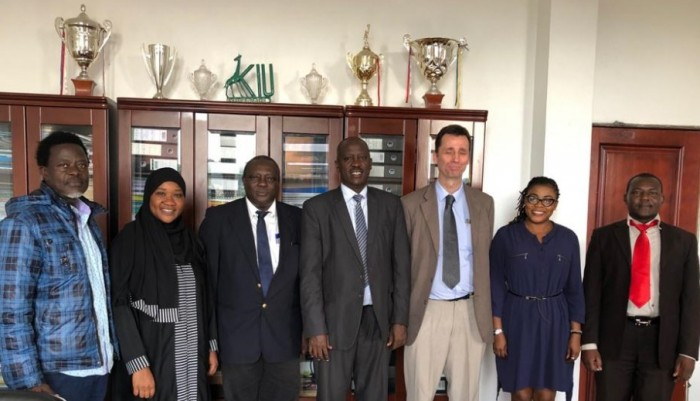 Dr. Peter Samuels Pays Courtesy Call On Kiu Management