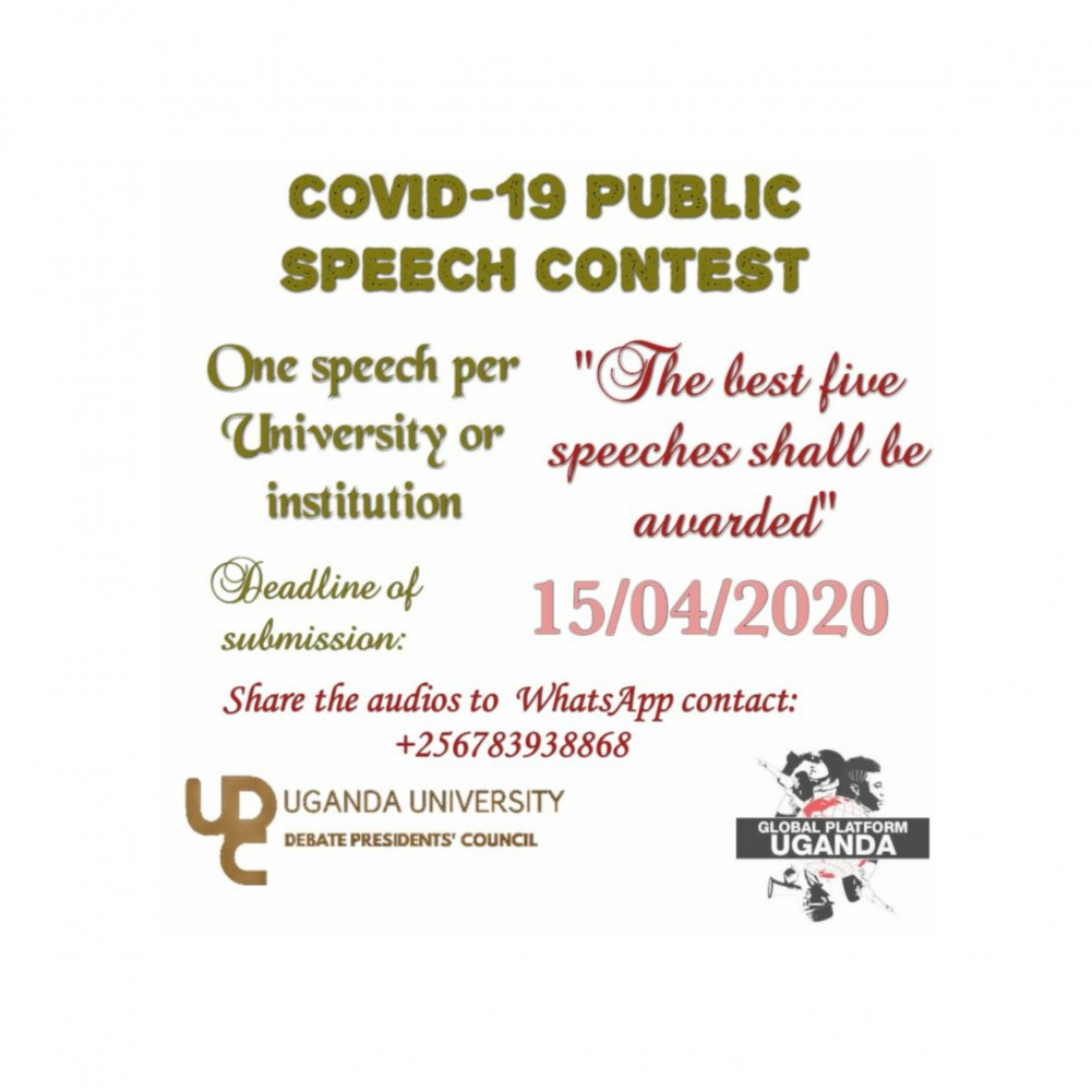Fighting Coronavirus Together: KIU to Participate in Online Public Speaking Competition on COVID-19