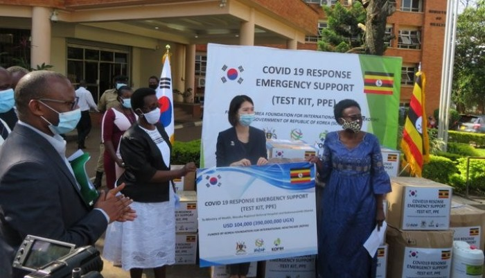 Fighting Coronavirus Together: Ministry Of Health Gets Test Kit, Personal Protection Equipment Boost