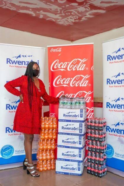 Fighting Covid Together: Coca-cola Beverages Africa, Birungi Charities Partner In Latest Padthrucovid Campaign Outreach