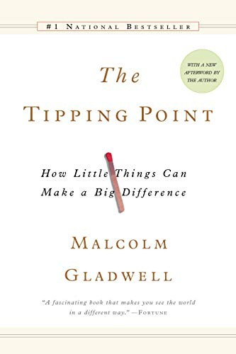 Kiu Book Club: The Tipping Point By Malcolm Gladwell