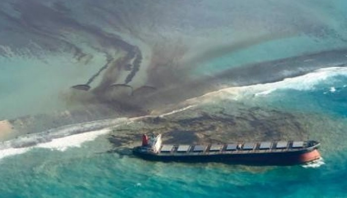 Kiu Business Desk: Japanese Tanker Oil Spill A Threat To Mauritius' Eco-tourism