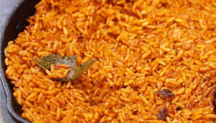 Kiu Cuisine: Enjoy The Exquisitely Yummy Nigerian Jollof Rice This Weekend