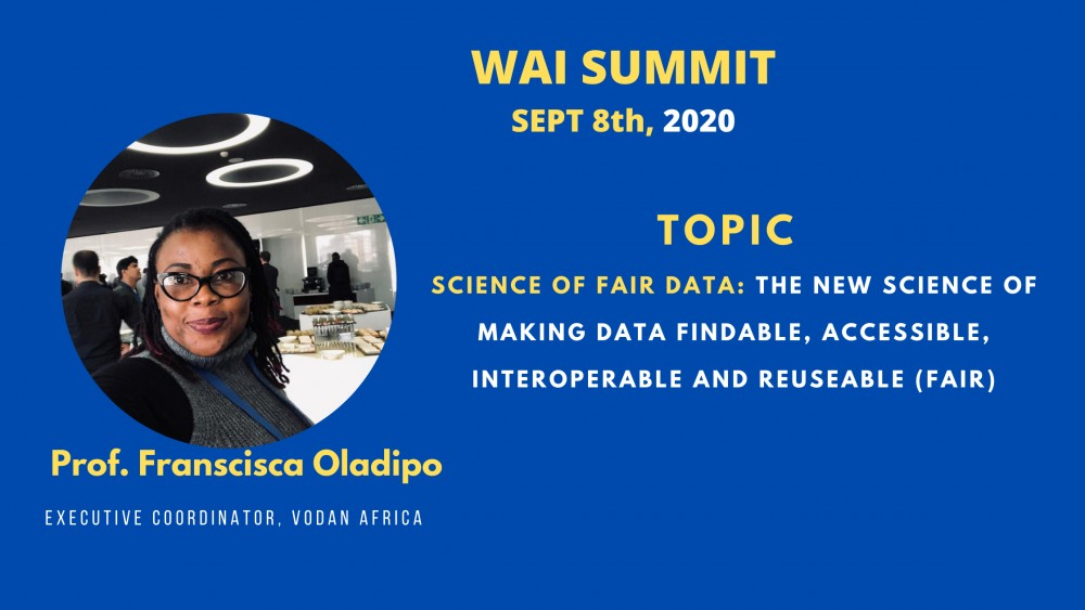 Kiu Director Of Research, Prof. Francisca Oladipo Ready To Speak At The Global Women In Artificial Intelligence (wai) Summit