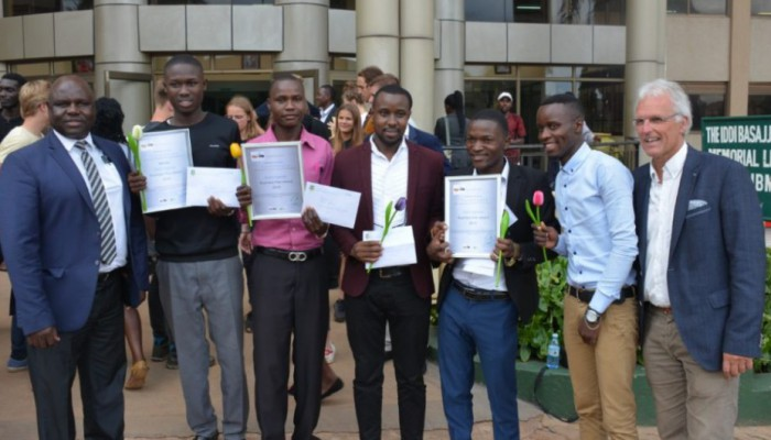 Kiu In Conjunction With Stick2uganda Conducts Business Pitch Event