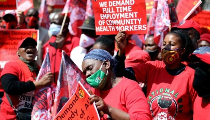 Kiu International Desk: South African Health Workers Protest Over Poor Working Conditions, Ppe