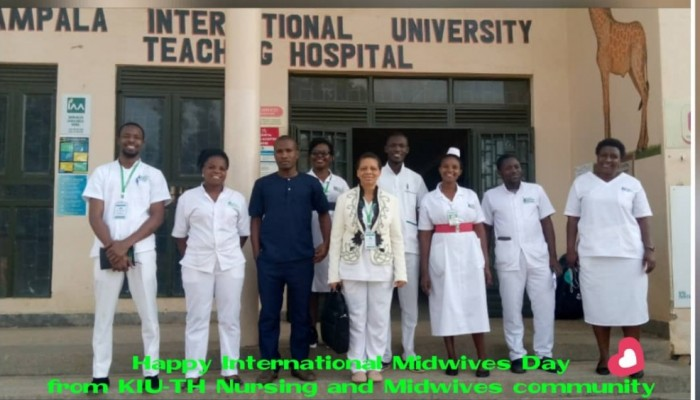 Kiu Together: Staff Wish Midwives A Happy International Midwives Day
