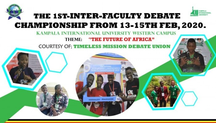 Kiu To Hold 1st Inter-faculty Debate Union At Western Campus