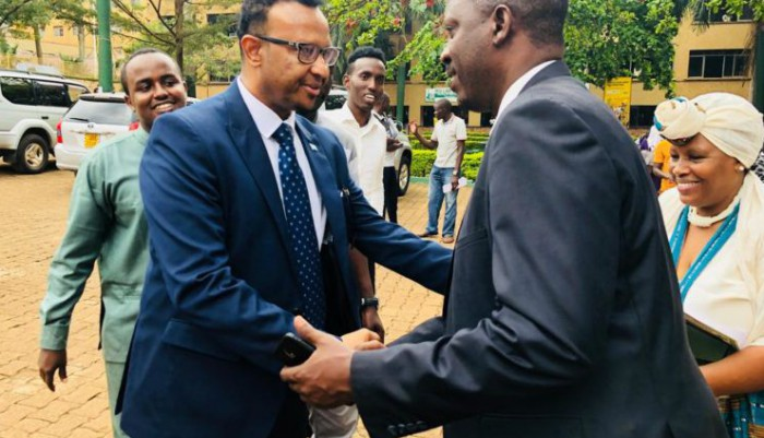 Kiu Welcomes Somalis Counselor To The University
