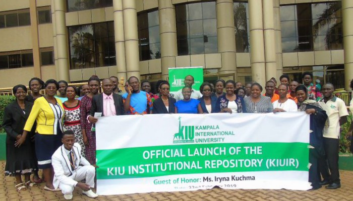 Launch Of The Kiu Institutional Repository
