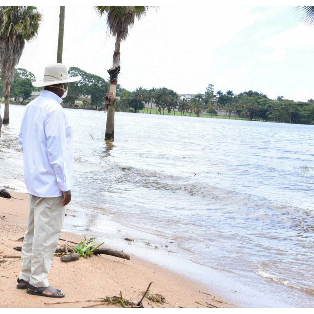 Kiu Environment Report: President Museveni Orders Encroachers To Vacate As Water Levels Rise