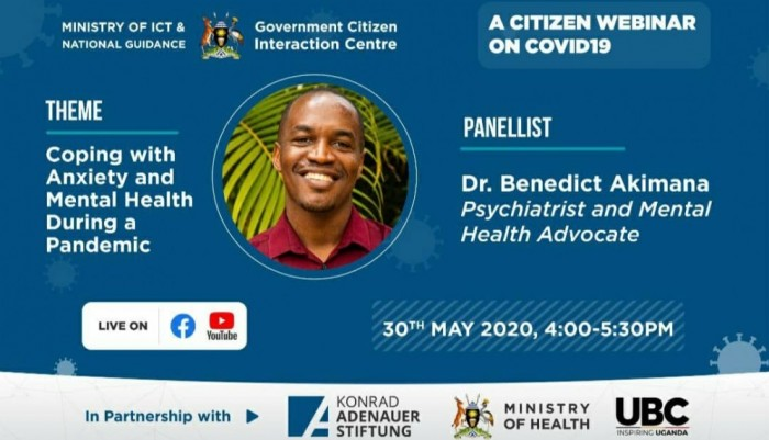 "Staying Well Together: KIU Psychiatrist to Appear on Citizen Webinar Panel on ""Anxiety and Mental Health During COVID-19"""