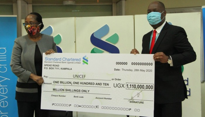 Staying Well Together: Standard Chartered Donates $300,000 for Immediate COVID-19 Relief in Uganda